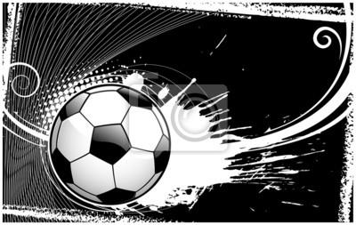 abstrait ballon de football backround