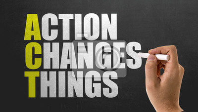 Posters ACT - L'action change les choses