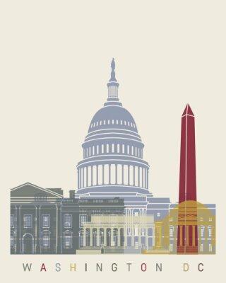 Posters Affiche de l'horizon de Washington DC