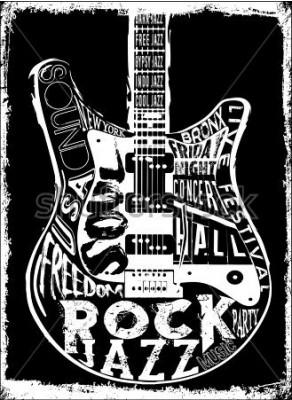 Posters Affiche de musique hard rock