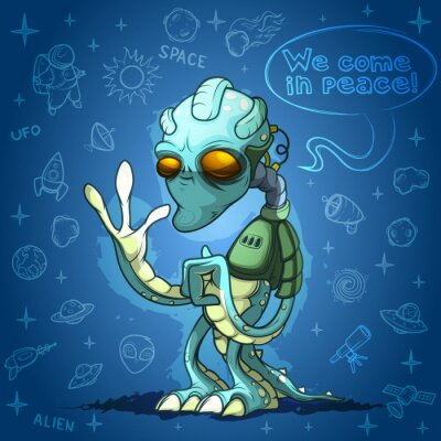 Posters Alien Invader vous accueille