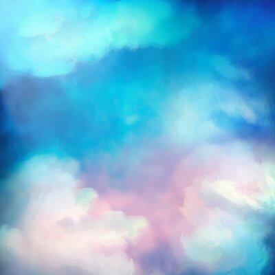 Posters Aquarelle Sky vecteur de fond