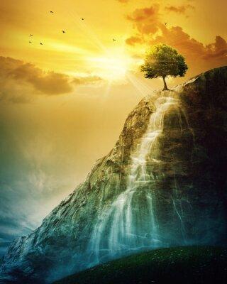 Posters arbre de Cascade