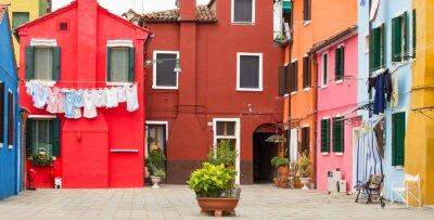 Posters Architecture méditerranéenne à Burano, Italie