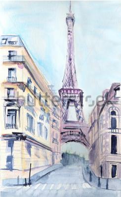 Posters Architecture parisienne. Tour eiffel