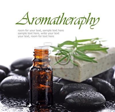 Aromathérapie, frontière d'huile essentielle naturelle