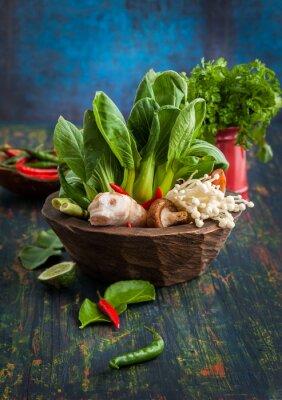 Posters Asiatiques Ingrédients alimentaires