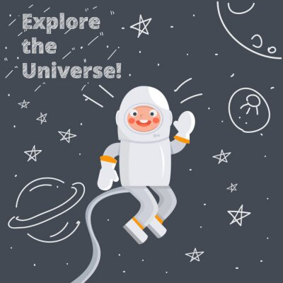 Posters Astronaute