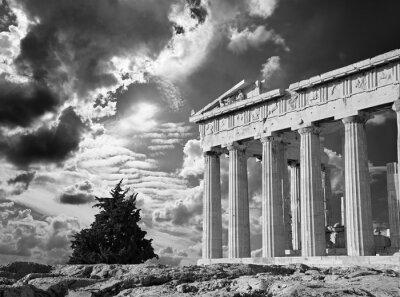 Posters Athènes - L'Acropole et beau Cloudscape