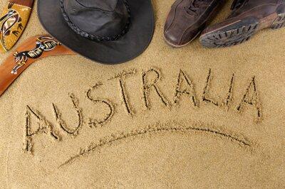 Posters Australie fond