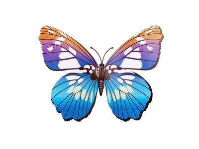 Posters Autocollant murale papillon