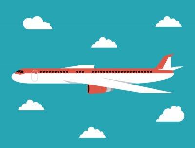 Posters Avion, icône, conception