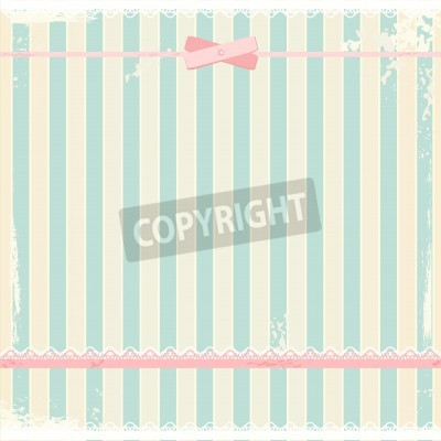 Posters background in shabby chic style