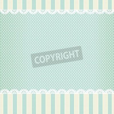 Posters background in style shabby chic