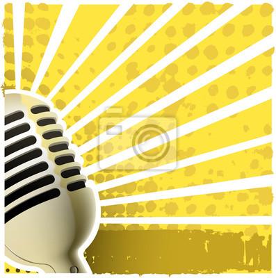backround de microphone
