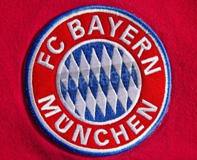 Posters Badge of German soccer club FC Bayern Munich