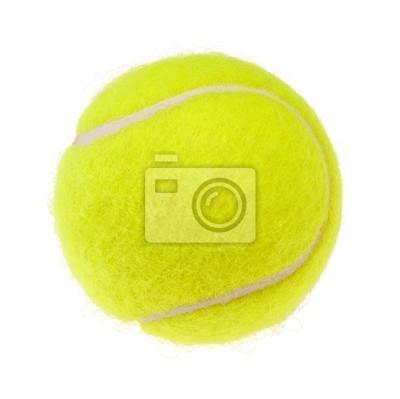 Balle de tennis découpe