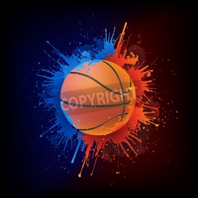 Posters Ballon de basket-ball