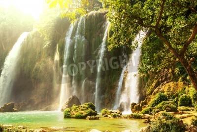 Posters Ban Gioc - cascade Detian au Vietnam