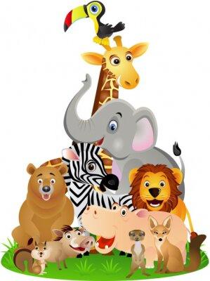 Posters Bande dessinée animale