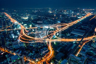 Posters Bangkok la nuit