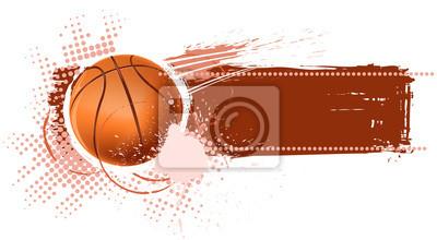 Bannière de basket-ball