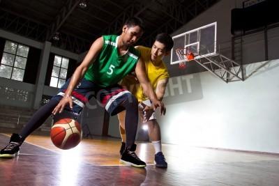 Posters Basketbal joueur dans le jeu