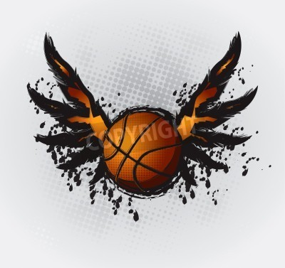 Posters Basketball Design Element 1 Vector Drawing
