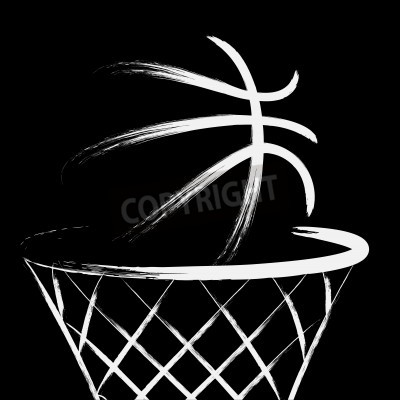 Posters Basketball, vector