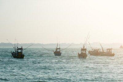 Posters Bateaux de pêche