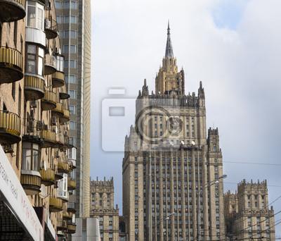 bâtiments historiques moscou