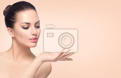 Posters Beauté, spa, femme, parfait, peau