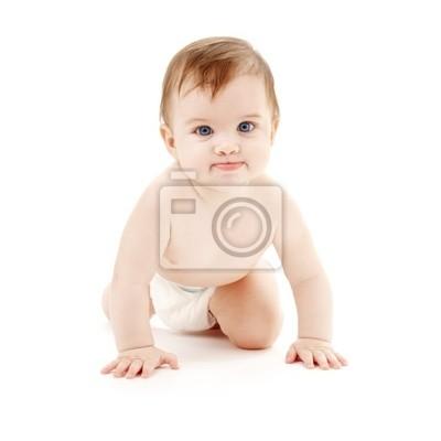 bébé de rampement