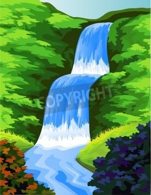Posters Belle cascade