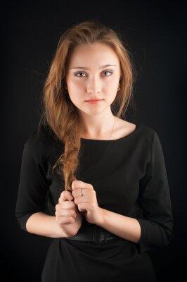 Posters Belle jeune femme brune