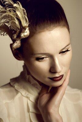 Posters Belles femmes de cinque lèvres d'art