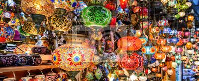 Posters Belles lampes au Grand Bazar, Istanbul, Turquie