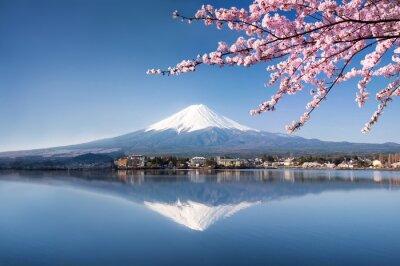 Posters Berg Fuji in Kawaguchiko Japan