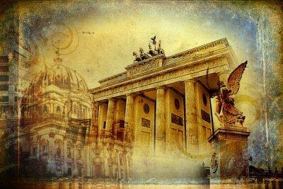 Posters Berlin art illustration de conception