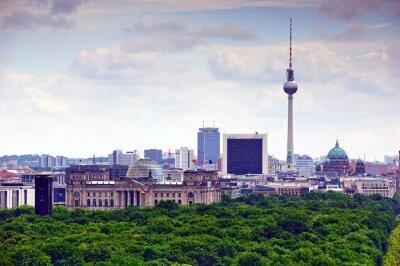 Posters berlin paysage urbain