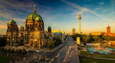 Posters Berlin - vue sur la ville