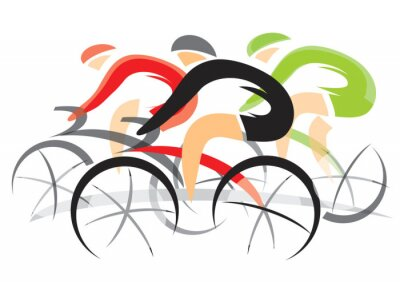 Posters Bicycle Race