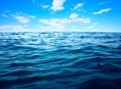 Posters Bleu, mer, eau, surface