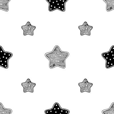 Posters Bois, étoiles, modèle, 3