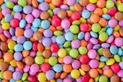 Posters Bonbons multicolores