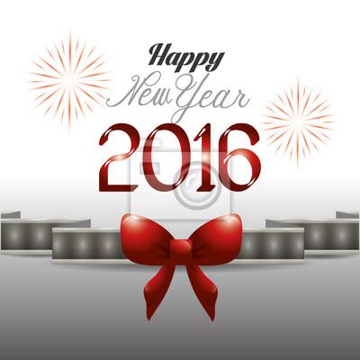 Bonne année conception