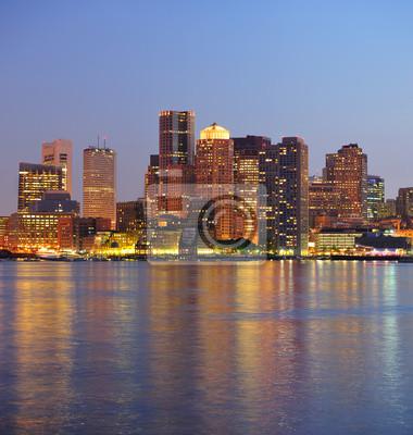 Boston bâtiments urbains