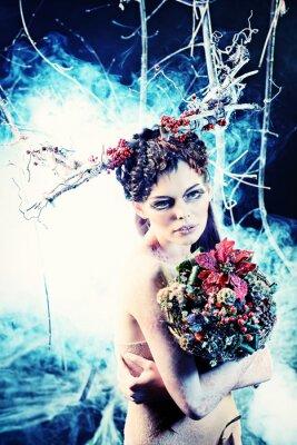 Posters bouquet d'hiver