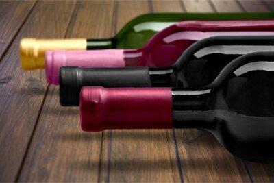 Posters Bouteille de vin.
