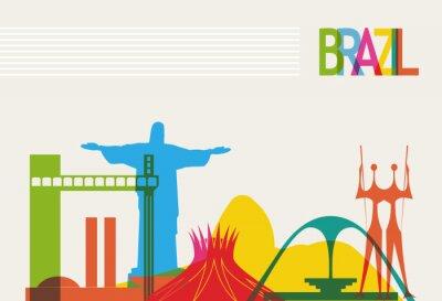 Posters Brésil tourisme horizon